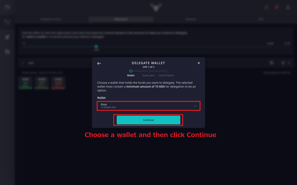 How to move ADA from BINANCE to DAEDALUS and delegate to AZUR